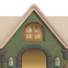 NH-House Customization-green cobblestone exterior