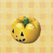 Yellow-pumpkin head