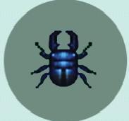Flat Stag beetle cut 2