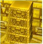 Golden Dresser