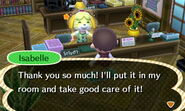 Isabelle Happy After Seashell