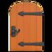 NH-House Customization-metal-accent door (round)