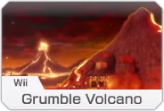 MK8- Wii Grumble Volcano