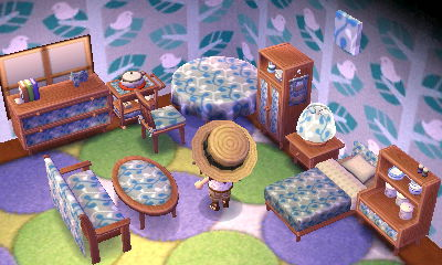 Animal Crossing New Leaf Room Color