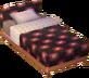 Square alpine bed