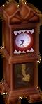 Creepy clock