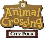 Logo Animal Crossing City Folk