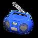 NH-Furniture-Cute music player (blue)
