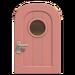 NH-House Customization-pink basic door (round)