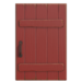 NH-House Customization-red rustic door (square)