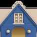 NH-House Customization-blue stucco exterior