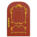 NH-House Customization-red fancy door (round)
