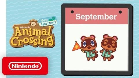 Animal Crossing New Horizons - Exploring September - Nintendo Switch
