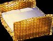 Cabana bed gold