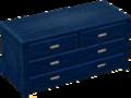 Dark blue bureau