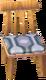 Beige alpine chair