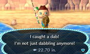 Dab new leaf
