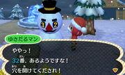 Papa snowman