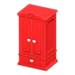 NH-Furniture-Cute wardrobe (red)