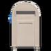NH-House Customization-white large mailbox