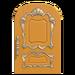 NH-House Customization-yellow fancy door (round)