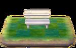 Plastic bench