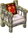 Cabin patchy tree armchair