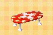 Polka Dot Coffee Table