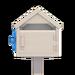 NH-House Customization-white wooden mailbox