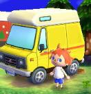 L'exterieur du camping-car dePoulette