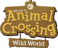 Logo Animal Crossing Wild World
