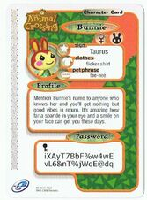 The back of Bunnie's e-reader card