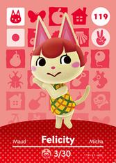 Amiibo 119 Felicity