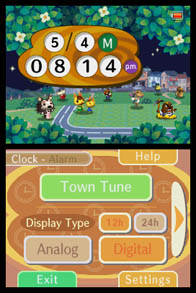 Animal Crossing Clock 2