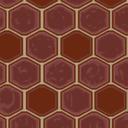 Flooring red tile