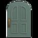 NH-House Customization-gray common door (round)