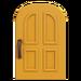 NH-House Customization-yellow common door (round)