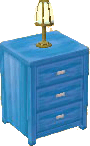 Light blue dresser