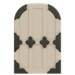 NH-House Customization-white zen door (round)