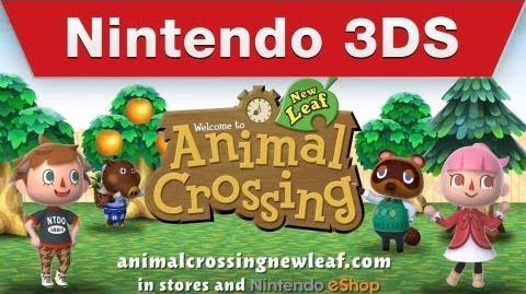 Nintendo 3DS - Animal Crossing New Leaf Tourism Trailer