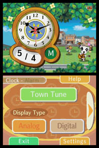 Animal Crossing Clock 3