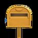 NH-House Customization-yellow ordinary mailbox