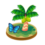 Sunburst-island icon
