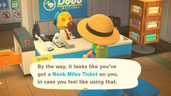 NH-screenshot-Orville notices the Nook Miles Ticket