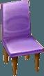 Common chair purple NL