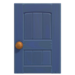 NH-House Customization-blue wooden door (square)