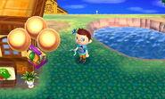 Golden Slingshot Baloon