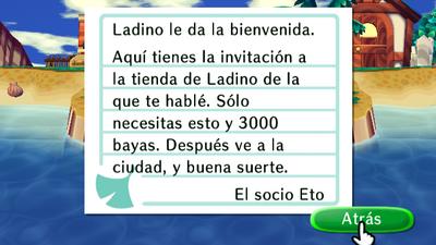 Invitación de Ladino