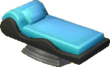 Astro blue and black bed