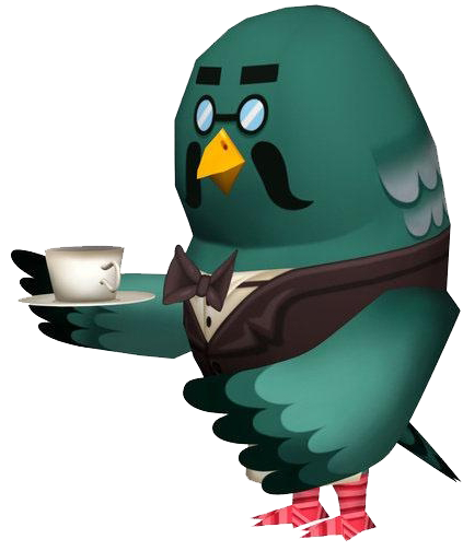 Brewster Coffee Animal Crossing Wild World